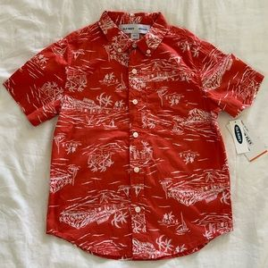 Old Navy Boys Hawaiian shirt